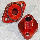 Meziere wp8012ananr rot 12Eine Wasser Pumpe Port Adapter für Big Block Chevy–Pack von 2
