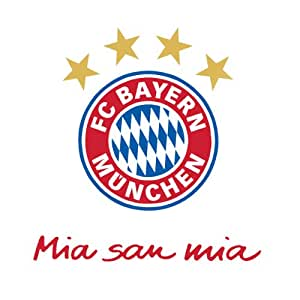 fc bayern wandtattoo mia san mia alle produkte. Black Bedroom Furniture Sets. Home Design Ideas