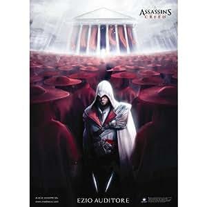 Assassin's Creed II 2 Ezio Auditore Da Firenze mod. 2 Poster Print 70x100 cm.