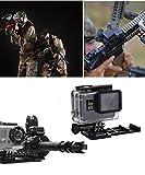 PULUZ Picatinny Weber Pistole Schienenmontage für GoPro HERO6 / 5 Session/ 5/ 4 Session/ 4/3 + / 3/2/1,, Xiaoyi und Andere Action Kamera