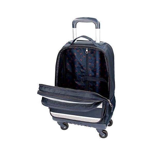 518UxEG1sTL. SS600  - Mochila con ruedas Pepe Jeans Pierre 4R