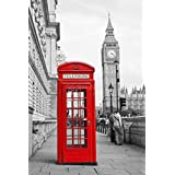 Londres accessoires et d corations chambre - Cabine telephonique anglaise a vendre ...