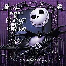 Nightmare Before Christmas 2020 Calendar - Official Square Wall Format Calendar