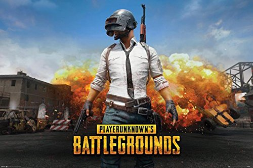 Close Up Póster PlayerUnknown's Battlegrounds - PlayerUnknown (91,5cm x 61cm)