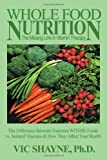 Whole Food Nutrition: The Missing Link in Vitamin Therapy: The Difference Between Nutrients WITHIN Foods vs. Isolated Vitamins & how they affect your health
