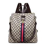 ETESCO Mode Damen Rucksack Tasche Leder Daypack...