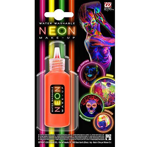Widmann 50009 Make-Up Neon in Dosierflasche, -