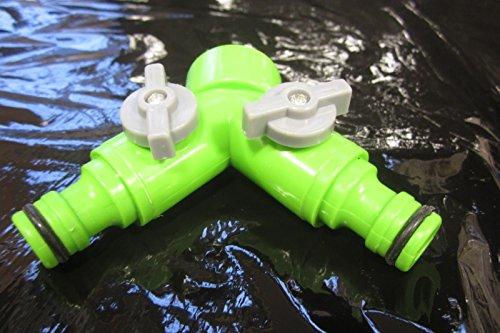 Generic qy-uk4-16 feb-20-2305 * * * * * * * * 1 * * * * * * * * * * * * * * * * 4255 * * * * * * * * * * * * * * * * 2 voies Connecteur IPE Y S Y Splitter flexible pi Tuyau d'arrosage 2 voies robinet de jardin Adaptateur de robinet en apter Robinet de jardin