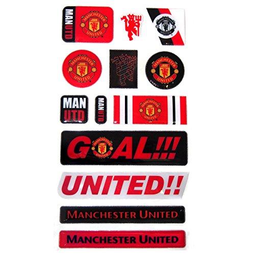 Manchester United F.C. Official MANCHESTER UNITED FC 13 Stück Aufkleber-Set f787c1d6918