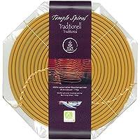 Große Räucherspirale Traditional Temple Spiral 100% naturrein Brenndauer 1 Tag 20,5 cm preisvergleich bei billige-tabletten.eu