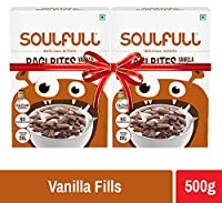 Soulfull Ragi Bites, Vanilla Fills Super Saver Pack- No Maida, High Calcium, 500g