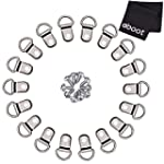 eBoot 100 Pcs D Ring Picture Frame Ha...