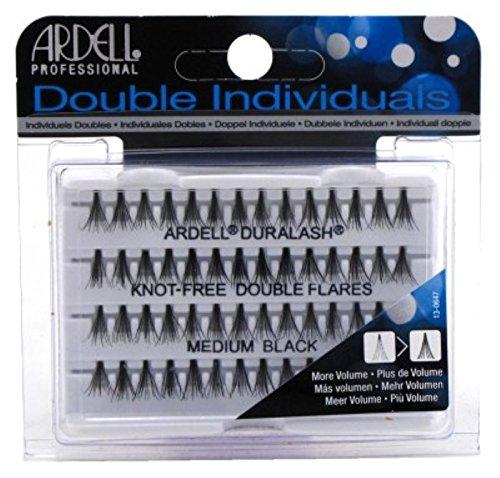 Ardell Double Individuals sans Nœud double Fusées éclairantes Noir Med