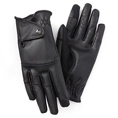 Ariat - Unisex-Erwachsene Elite Grip Handschuh Handschuhe Englisch, 7 Regular, Black