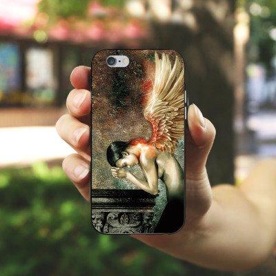 Apple iPhone 5 Housse Outdoor Étui militaire Coque Housse en silicone noir / blanc