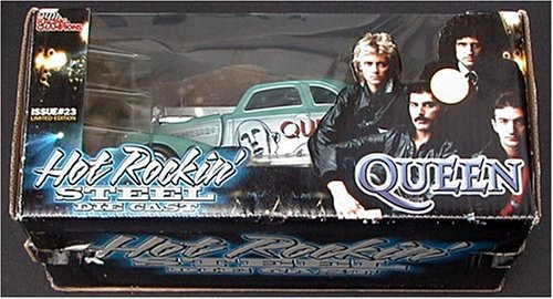 Preisvergleich Produktbild Racing Champions Hot Rockin' Steel #23 QUEEN 1939 Chevy Coupe 1:24 Scale Die Cast Car
