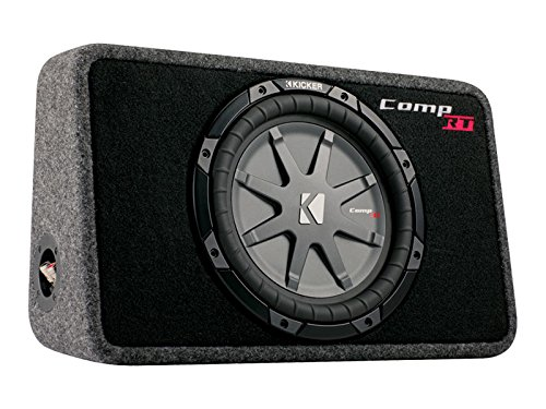 kicker tcomprt10 Pre-Loaded Subwoofer 400 W (Slim-sub Gehäuse)