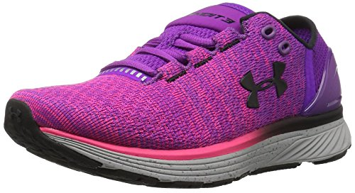 Under Armour UA W Charged Bandit 3, Zapatillas de Running para Mujer, Morado (Purple Rave), 36.5 EU