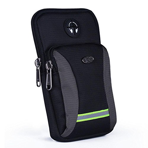 BUSL Wandern Hüfttaschen Herren-Outdoor-Sport-Handy-Paket Multifunktions-Arm-Tasche Schulter diagonal Paket Taschen laufen i