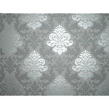 rasch 148213 papiertapete muster ornament silber grau. Black Bedroom Furniture Sets. Home Design Ideas
