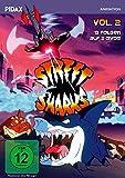 Street Sharks, Vol. 2 / Weitere 13 Folgen der Zeichentrickserie (Pidax Animation) [2 DVDs]