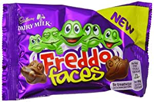 Cadbury Dairy Milk Freddo Chocolate Faces, 35g (Pack of 28)