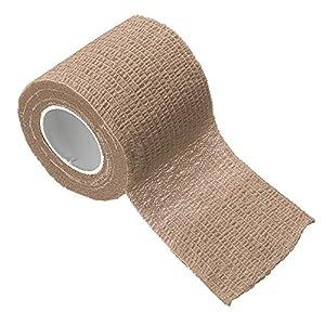 STRUGGGE selbsthaftende Bandage – 1 x Erste-Hilfe-Sport-Bandagen, Tierarzt-Wickel, selbsthaftende Bandagen