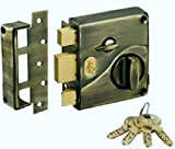 Best Deadbolts - Godrej Ultra Tribolt 1CK Deadbolt - Antique Brass Review