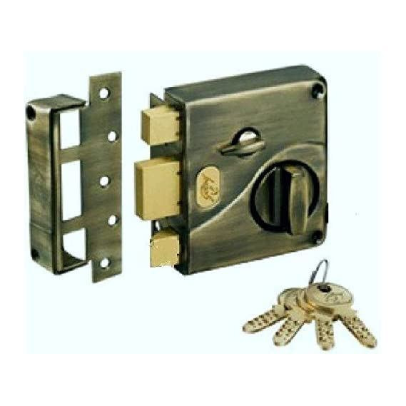 Godrej Ultra Tribolt 1CK Deadbolt - Antique Brass (Free Installation)