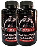 L- CARNITINA + CAFEÍNA 830mg. 2 x 100 cápsulas. Dra. BANNISTER
