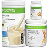 Herbalife Formula 1(Kulfi) with Personalized Protein Powder(200gm)+ Afresh(Cinnamon)