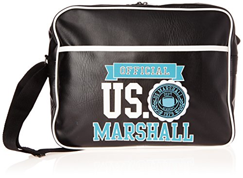 us-marshall-borsa-a-spalla-nero-bianco-nero-ush25354