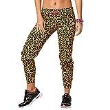 Zumba Fitness Damen La Gozadera Dale Skinny Sweatpants Fitness Overalls und Bodies Frauenhosen, Bold Black, M