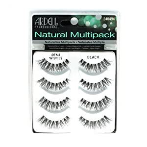 (6 Pack) ARDELL Professional Natural Multipack - Demi Wispies Black by Ardell