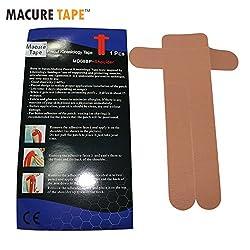 Black : Macure Tape Healthcare Shoulder Athletic Kinesiology Tape Medical Elastic Sport Muscle Adhesive Bandage kinesiologia Tape