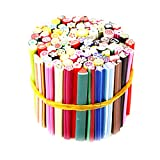 100Pcs Nail Art Sticks 3D nail art Nailart manicure canne di Fimo Sticks Rods Adesivi punte del gel