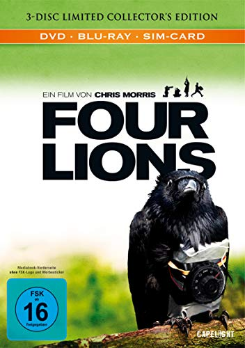 Four Lions [Blu-ray] [Limited Edition] [Collector's Edition]