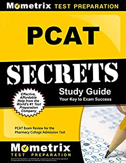 Pcat secrets study guide: pcat exam review for the pharmacy.