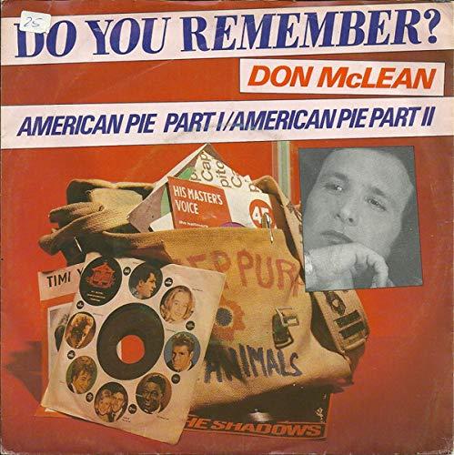 American Pie - Part I / American Pie - Part II [Vinyl Single 7''] (Don Mclean American Pie Vinyl)