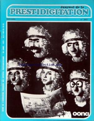 JOURNAL DE LA PRESTIDIGITATION [No 303] du 01/03/1975 -