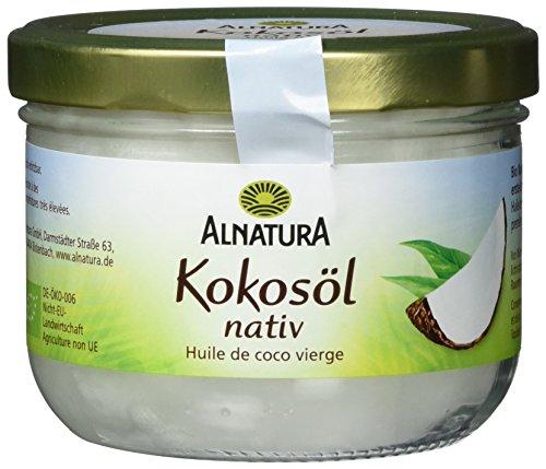 Alnatura Bio Kokosöl nativ, 2er Pack (2 x 400 ml)
