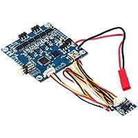 Blue 2 Axis BGC MOS 3.0 Controlador de cardán sin escobillas de gran tamaño actual con controlador de placa de sensor Kit de transductor Alexmos