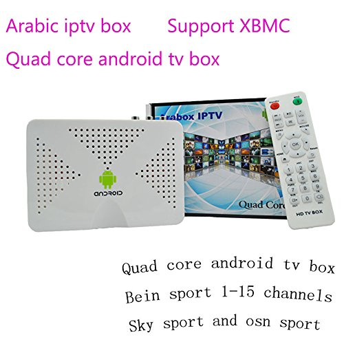 Vshare® Quad Core S805 Android Tv Box Arabic Iptv Account for 2 Year