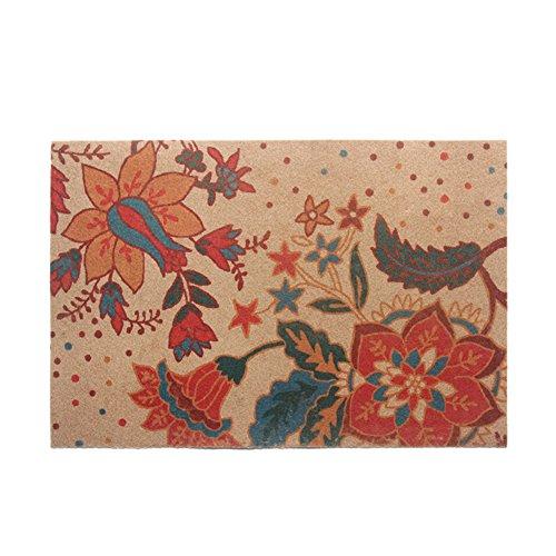 tappetino-pianta-stuoie-auchan-stampa-pastiglie-zerbino-pad-grigio-piede-pad-a-50x80cm20x31inch