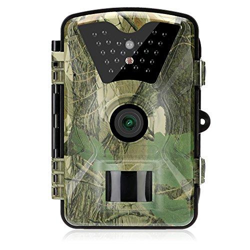 OAKOME Cámara de Caza,12MP +1080P HD 12MP 1080P Cámara de Vigilancia
