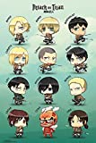 Attack On Titan Poster Chibi Characters (61cm x 91,5cm)