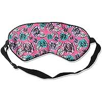 Eye Mask Eyeshade Roses Drawing Sleep Mask Blindfold Eyepatch Adjustable Head Strap preisvergleich bei billige-tabletten.eu