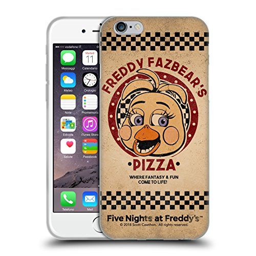Official Five Nights At Freddy's Toy Chica Freddy Fazbear's Pizza Soft Gel Case for iPhone 6 / iPhone 6s