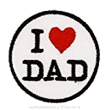[ Make Love, Not War ] I <3 Dad; Love Dad for Father for sale  Delivered anywhere in Ireland