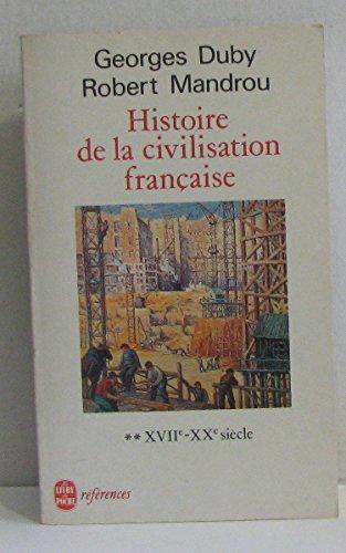 Histoire de la civilisation française par Georges Duby